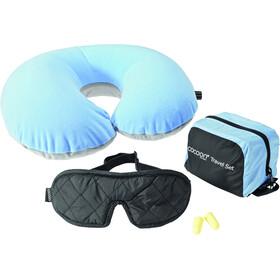 Cocoon Ultralight Fundas para sacos, light blue/black